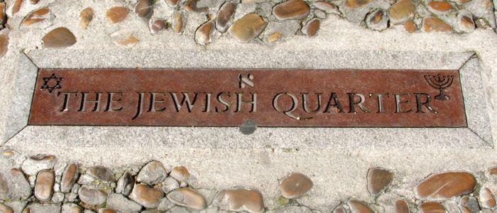The Jewish quarter, o Barrio judío de Toledo