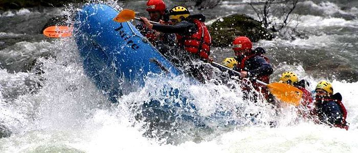 Rafting río Sella