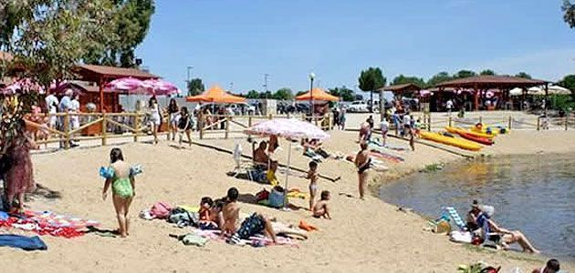 Playa de Proserpina, La Charca en Mérida, Badajoz