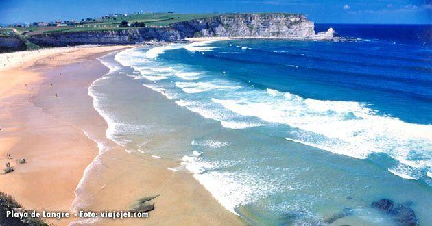 Playa de Langre, en Cantabria
