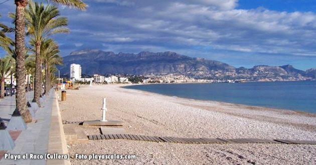 Playa el Raco, en Cullera
