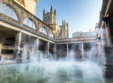 Baños romanos en Bath