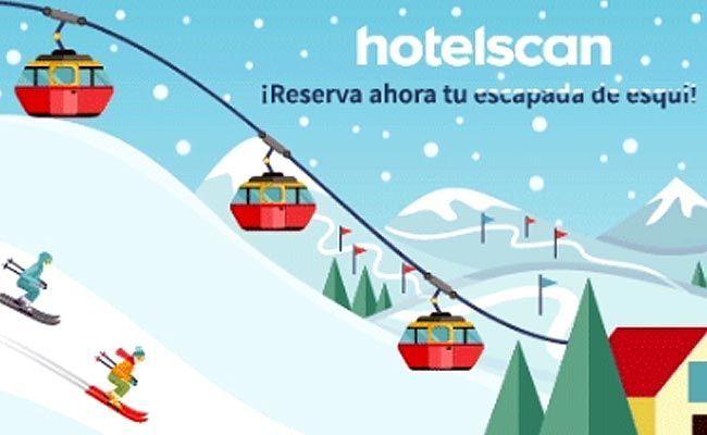 Hotel más esquí