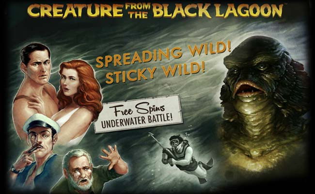 Juego tragaperras: creature from the Black Lagoon