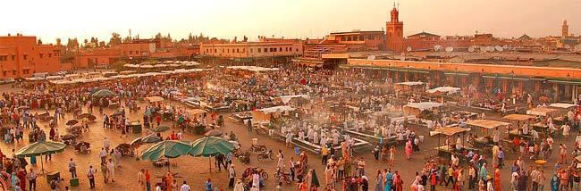 Mercado de Jemaa el Fna Marrakech