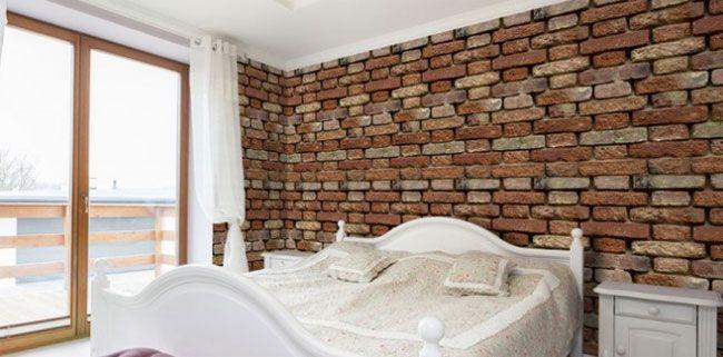 Papeles pintados muro antiguo