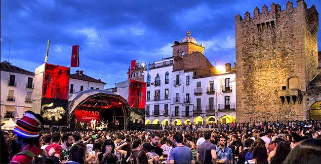 Womad Plaza Myor Cáceres