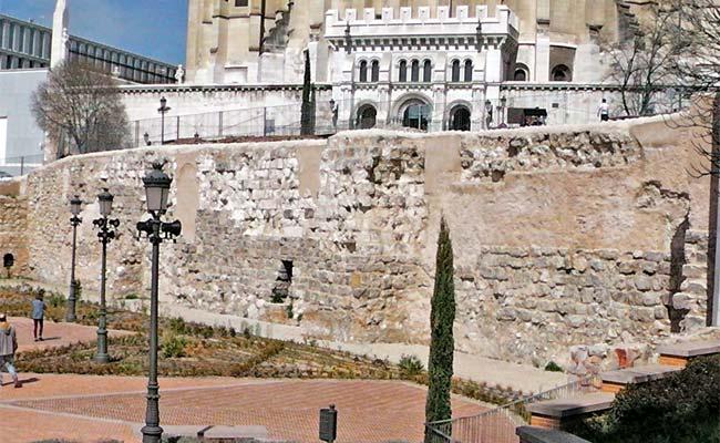 Muralla árabe de Madrid