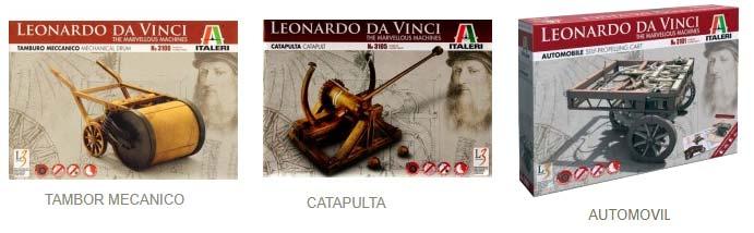Maquetas Leonardo da Vinci