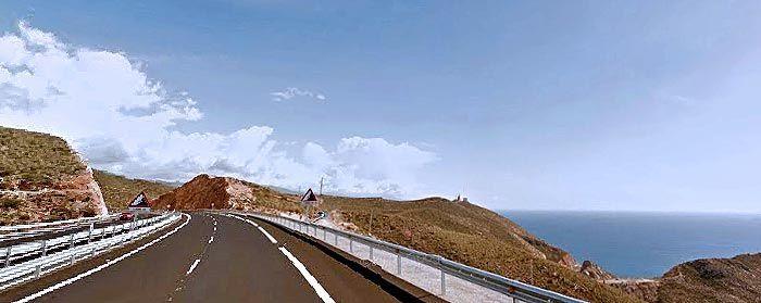 Ruta en moto Costa Almería