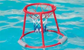 Canasta de baloncesto flotante