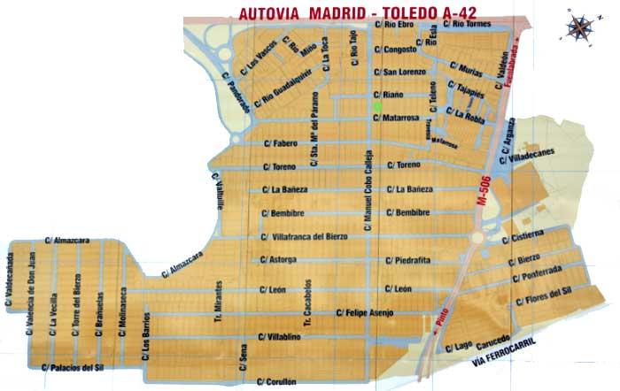 Mapa Cobo Calleja