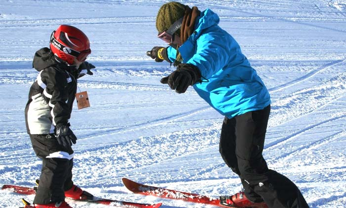 Clases personalizadas de esquí