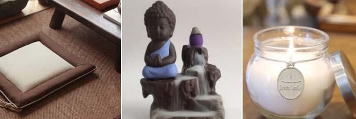 Herramientas de meditación budista