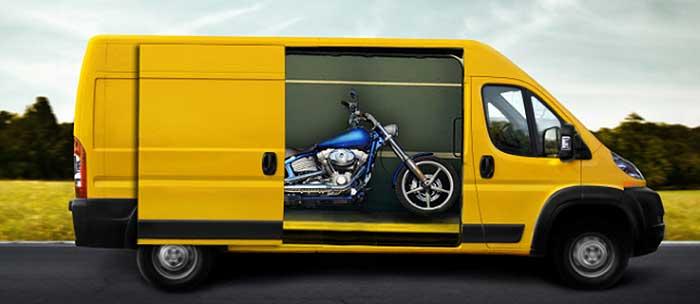 Transportes de motos en Europa