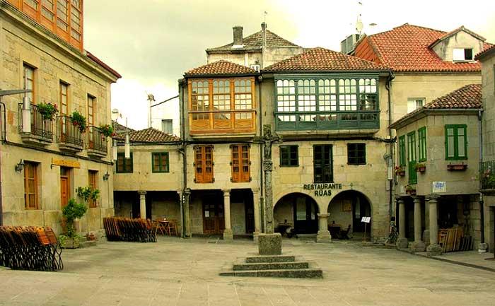 Plaza de la Leña Pontevedra
