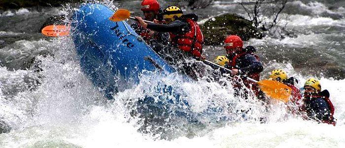 Rafting río Sella