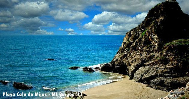 Playa y cala en Mijas