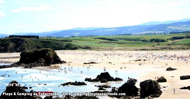 Playa & Camping Peñarronda, Asturias