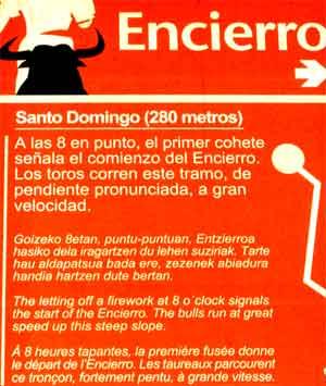 Cartel Encierro de San Fermín