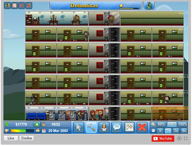 Juego online Theme Hotel