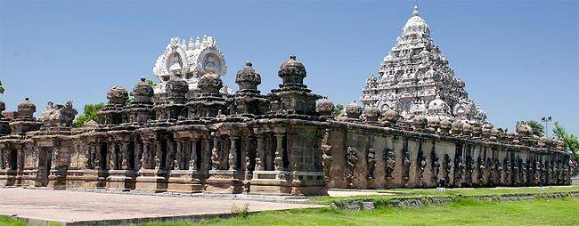 Kanchipuram la Ciudad de los Mil Templos