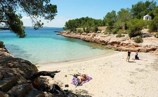 Cala de la Gracioneta en Ibiza