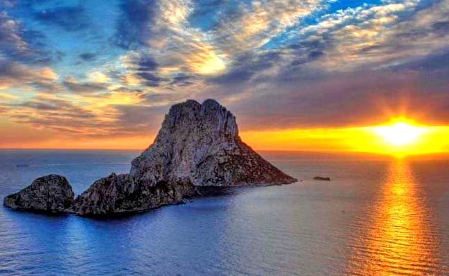 La isla de Ibiza