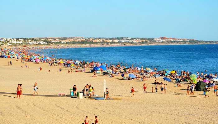 Playa la Barrosa Chiclana de la Frontera