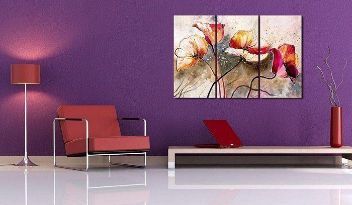 Cuadros tr pticos para decorar tu casa - Cuadros modernos valencia ...