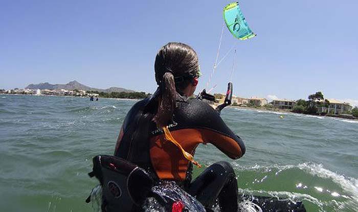 Curso iniciación kitesurf Mallorca