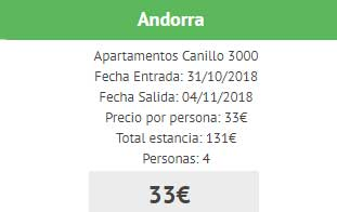 Ofertas apartamentos Andorra