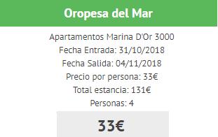 Ofertas apartamentos Marina D'Or