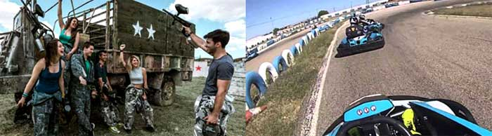 Paintball y Kart