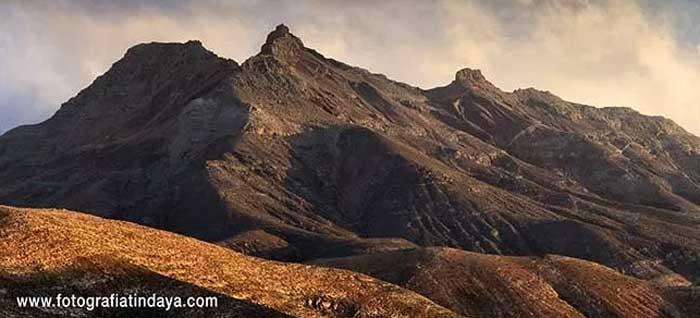 Montaña Cardón en Fuerteventura