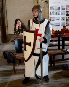 Templario por un día Castillo de Gardeny