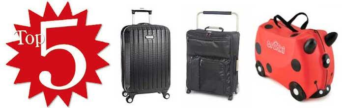 Top 5 maletas viaje