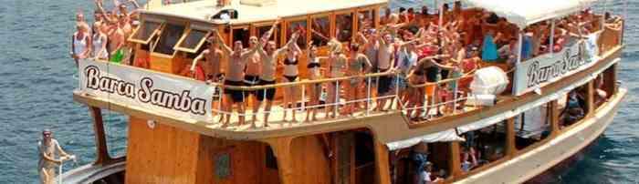 Fiestas en barco en Mallorca