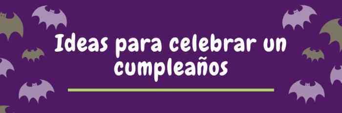 Idéias para comemorar seu aniversário